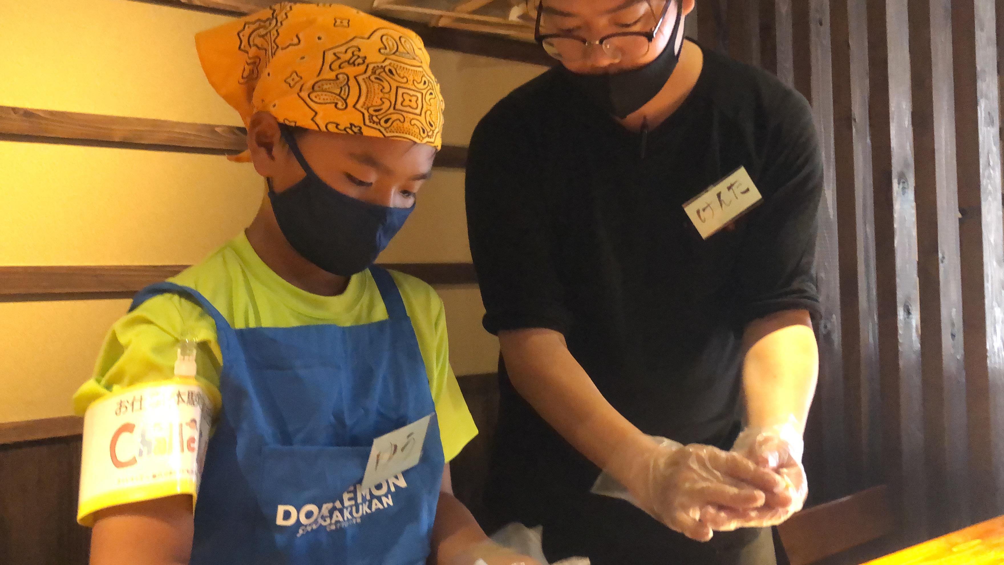 寿司職人のお仕事 210731−15